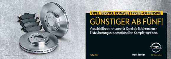 Opel Service komplett